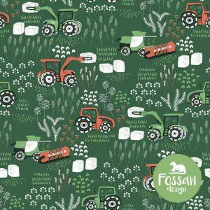 Fossan tractor groen