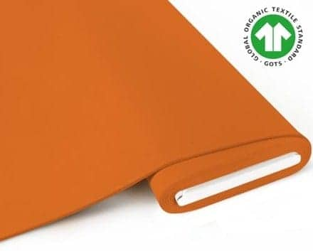Fabrilogy - French Terry - Oranje fabrilogy10