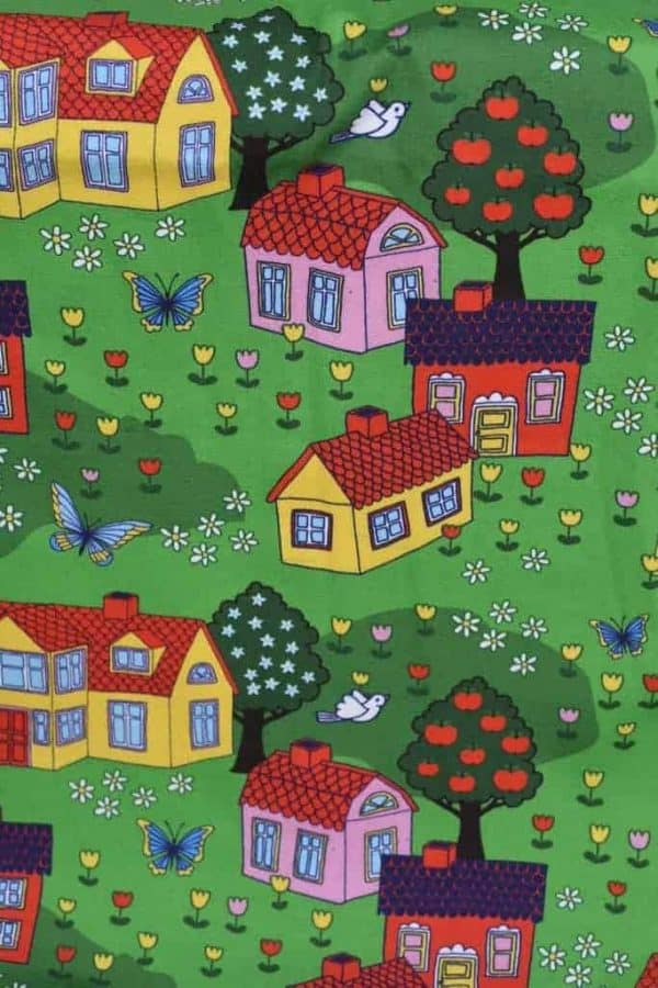 Tradsnella - gekleurde huisjes coupon 60cm houses1