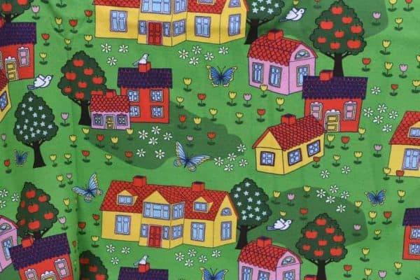 Tradsnella - gekleurde huisjes coupon 60cm houses2