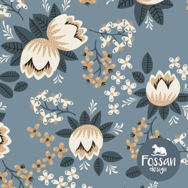 Fossan- Winter bloemen lilian grey1