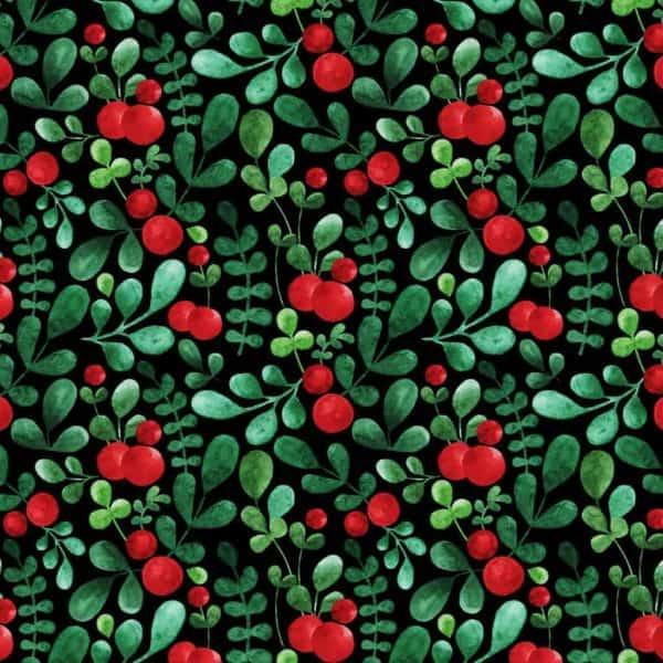 Ernst Textil - lingon swart lingon swart1
