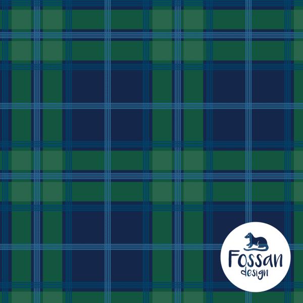 Fossan- Schotse ruit groen ruth blue