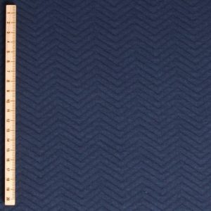 Mind the maker Chevron Quilt navy