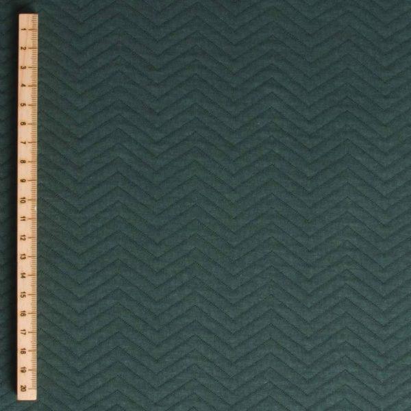 Mind the Maker chevron quilt (sweat) Green