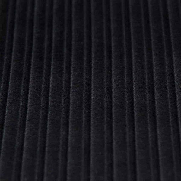 COurduroy stoffonkel zwart GOTS