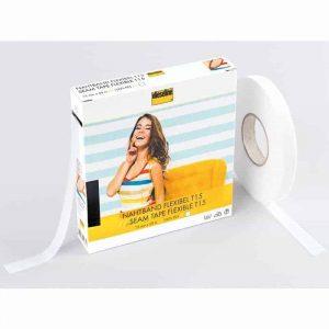 Vlieseline flexibel naadband wit