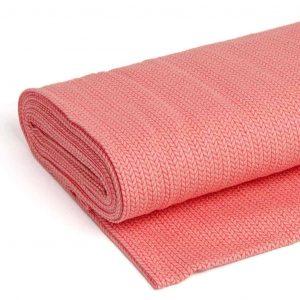 Albstoffe big knit rood licht roze