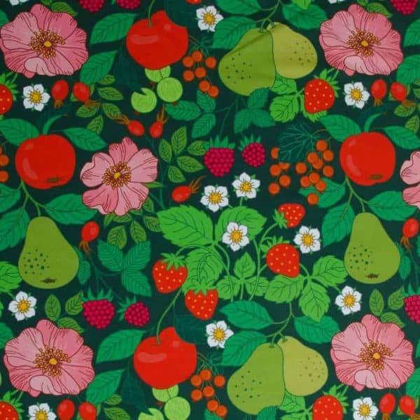Vintage in my Heart- Selmas Garden groen (Tricot) vintage selmas garden Aangepast