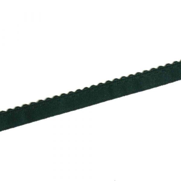 Vouwelastiek donker groen elastisch biasband groen Aangepast