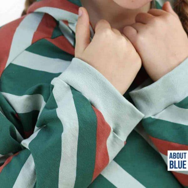 About Blue- boordstof 9 Blue Haze