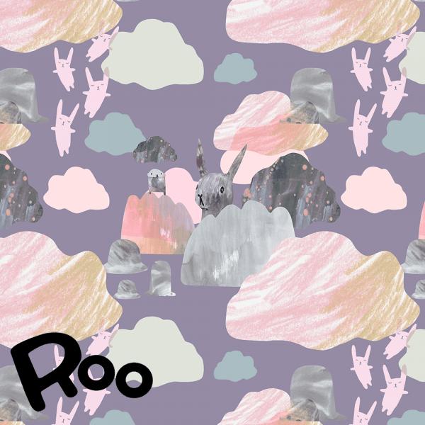 Story of Roo- Ed and his neighborhood purple