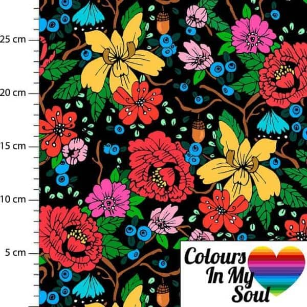 Colours in my soul- Flowers by Sari Black