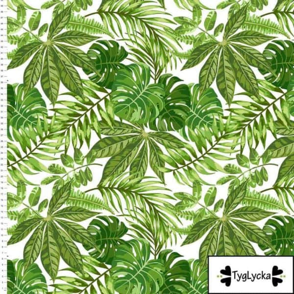 Tyglycka - Jungle leaves (Tricot) jungle leaves