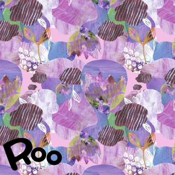 Story of Roo- Underwater garden lilac