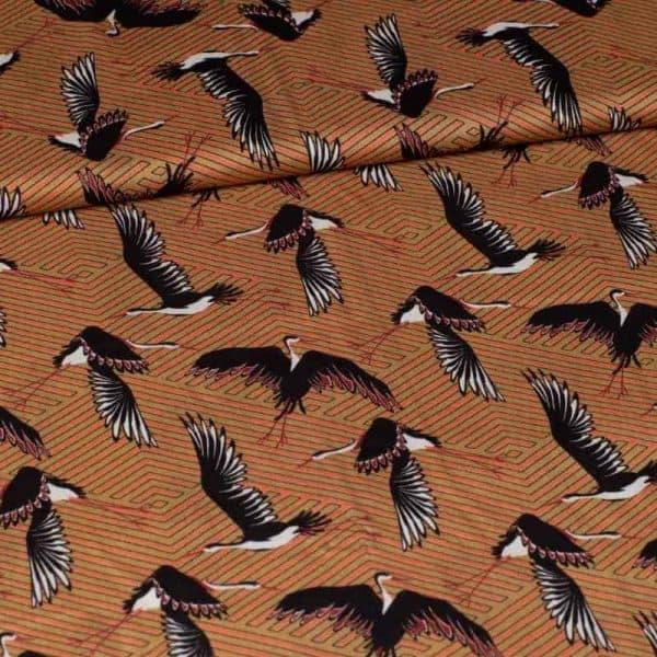 Signature - Birds - Viscose S01061 304 Aangepast