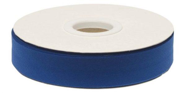 Gevouwen biaisband 20mm - Kobalt blauw kobalt blauw