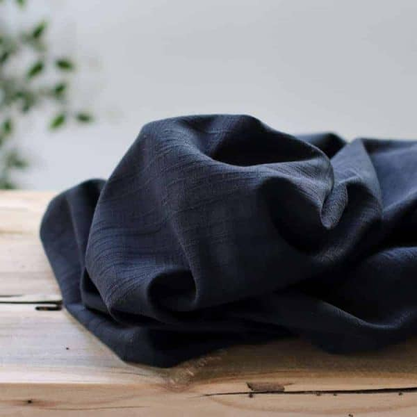Meet Milk- Tencel Jacquard Gurnge black
