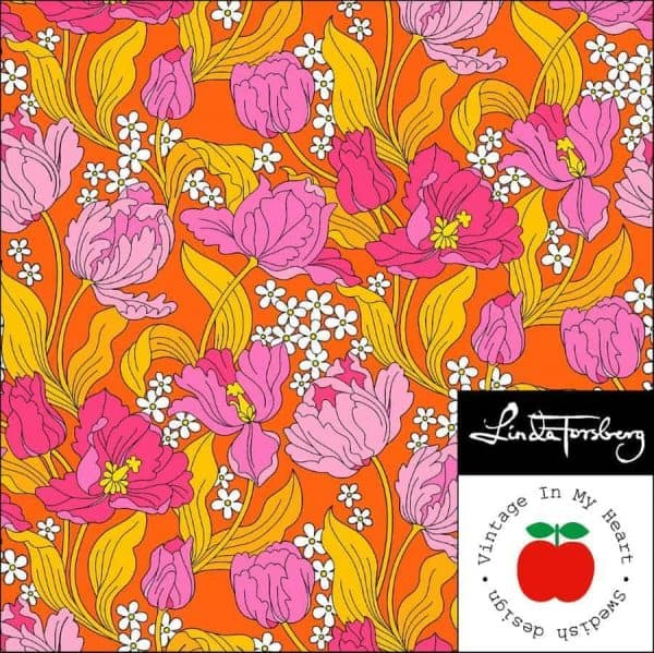 vintage in my heart- bombastic orange- pink