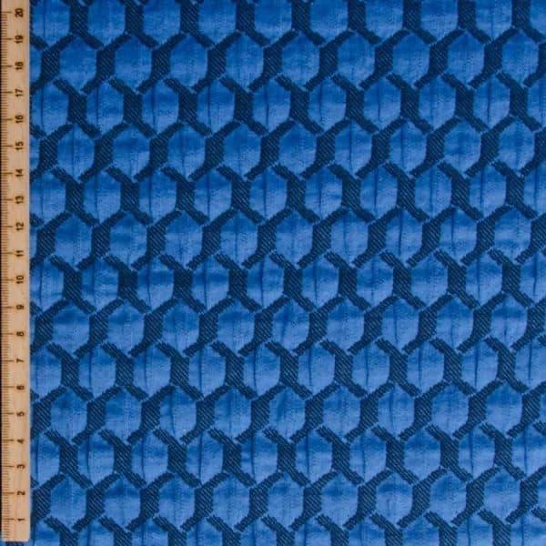Albstoffe- Honeycomb A04/10 (Life Loves You) Donkerblauw sessie2803 644 Aangepast