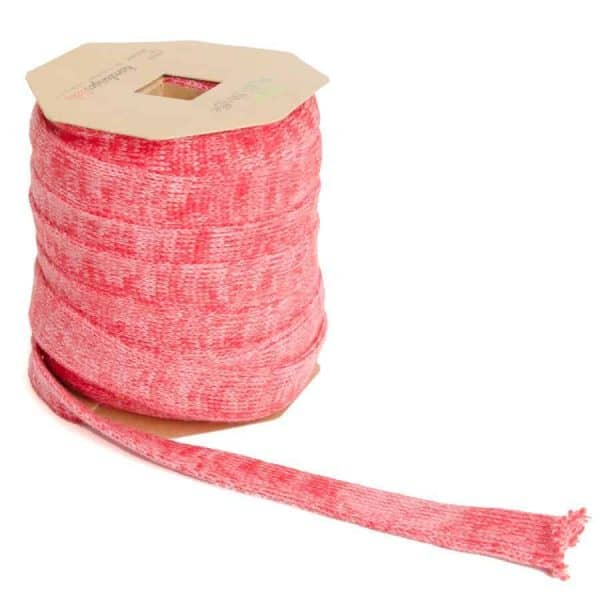 Plat koord Hoodie 2cm breed - Albstoffe - flamma/roze de sessie2803 652 Aangepast
