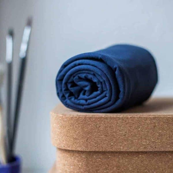 Meet Milk- Basic Stretch Jersey met TENCEL™ vezels- Blueberry basic stretch blueberry Aangepast