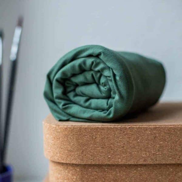 Meet Milk- Basic Stretch Jersey met TENCEL™ vezels- Moss basic stretch moss Aangepast