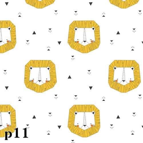 Katia - Katoen Popeline Origami Lion dbikgd4g.qnq .katia fabric poplin 11