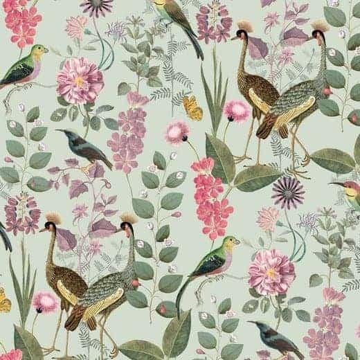 Poppy- canvas botanical garden 07927.006
