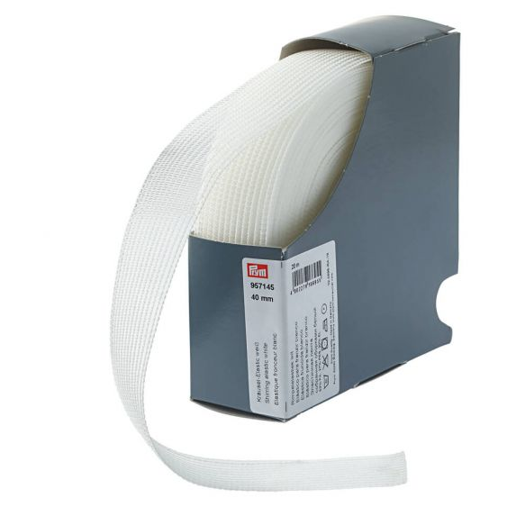 Prym - Rimpelelastiek 40mm 957.145 1 prym rimpelelastiek 40mm