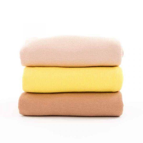 See You At Six - Spnge Terry Cloth - Golfinch Yellow Ribbing SYAS Summer 2020 07b 1