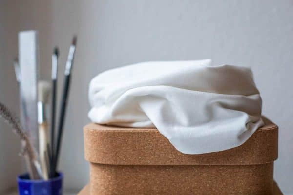Meet Milk- Basic Stretch Jersey met TENCEL™ vezels- White basic stretch white