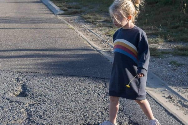 teddy sweater playsuite en sweaterdress patroon
