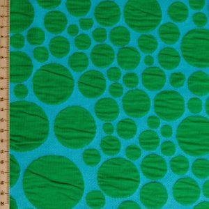 Albstoffe Bloom Bubbling groen blauw