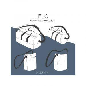 wisj Flow sporttas en handtas