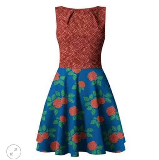 Fossan- Roses Red Jersey Roses Red – Fossan Design Wholesale 2