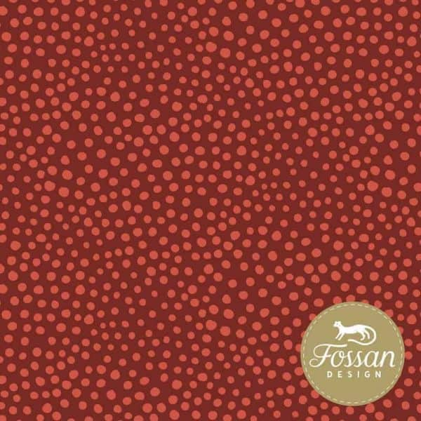 Fossan- Steentjes Rood Shop Stone Dots Red new