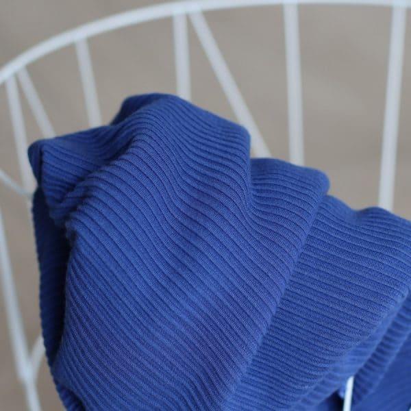 Meet Milk - Self-Stripe Ottoman knit met Ecovero vezels - Lapis MM 9204 LAPIS2