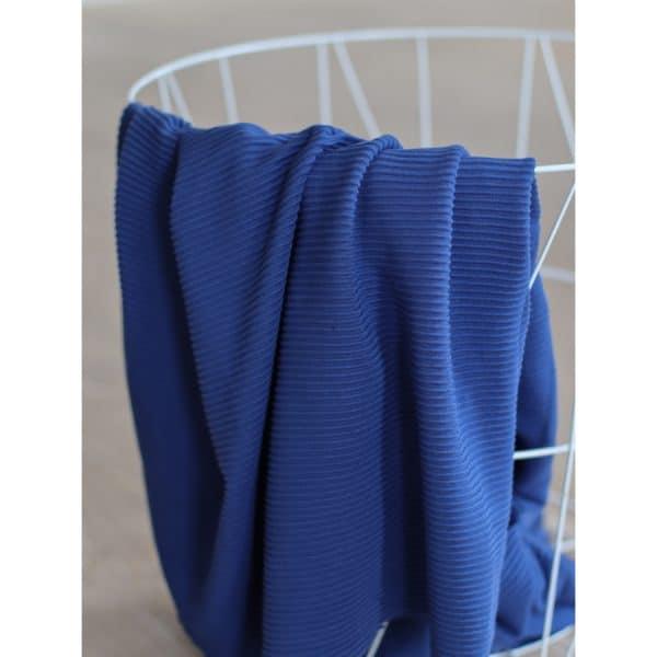 Meet Milk - Self-Stripe Ottoman knit met Ecovero vezels - Lapis MM 9204 LAPIS3