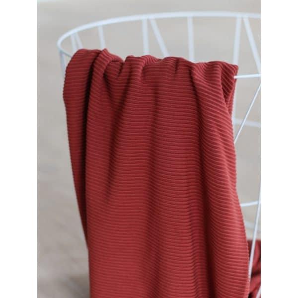 Meet Milk - Self-Stripe Ottoman knit met Ecovero vezels - Cider MM 9205 CIDER3