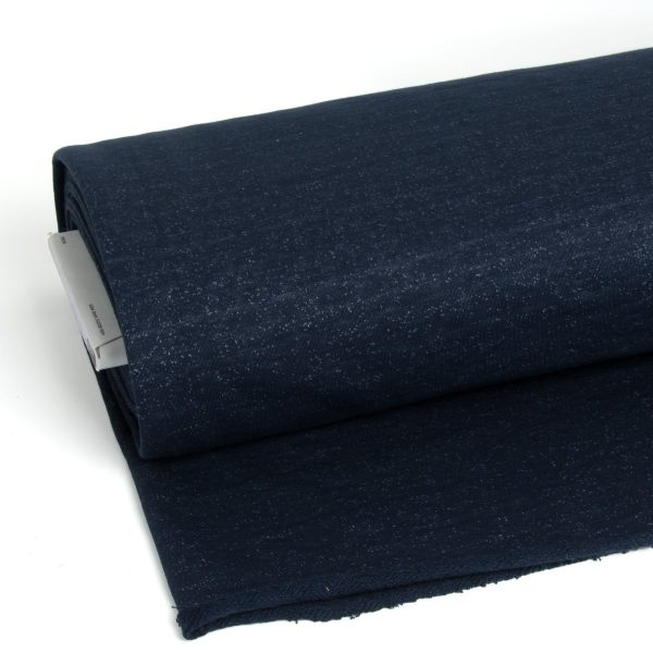 Mind the MAKER- Organic Nep Sweat MTM sweat blauw Aangepast