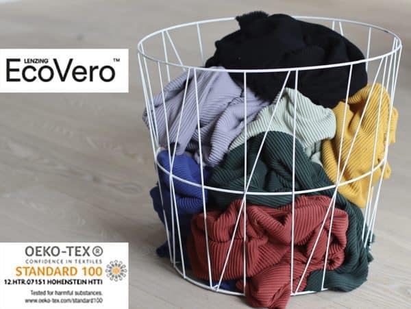 Meet Milk - Self-Stripe Ottoman knit met Ecovero vezels - Cider OttomanKnit Banner 2