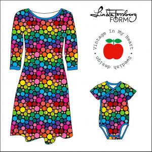 vintage in my heart feel good mini rainbow tricot