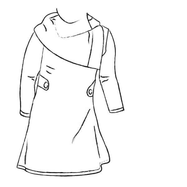 Sofilantjes - Nivalis Tuniek en Jurk nivalis Option A Collar