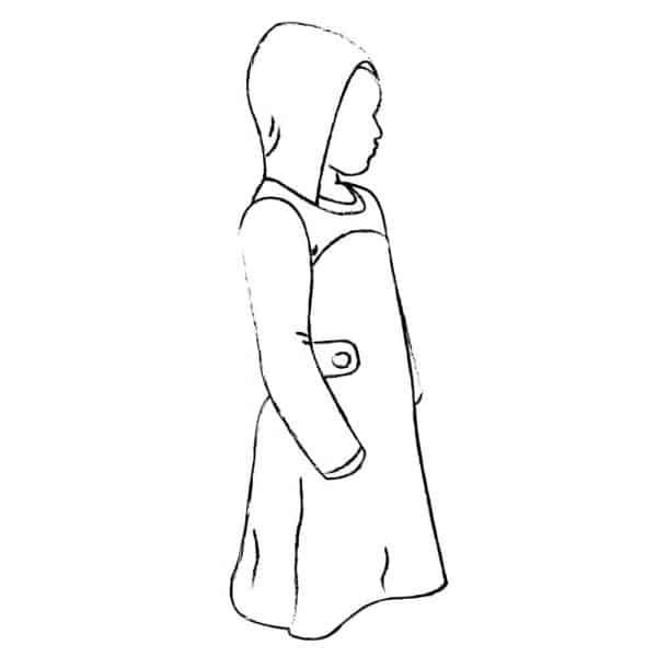 Sofilantjes - Nivalis Tuniek en Jurk nivalis Option B Hood