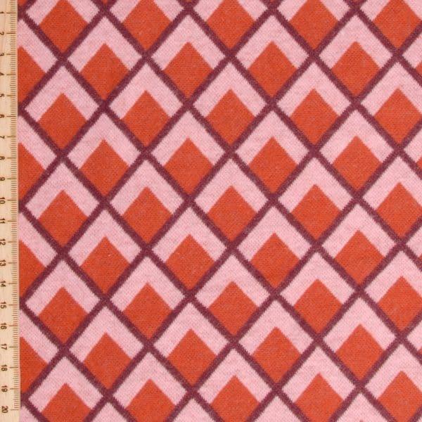 Albstoffe - Fatima Wooltouch - Terracotta albstoffe wooltouch roodB