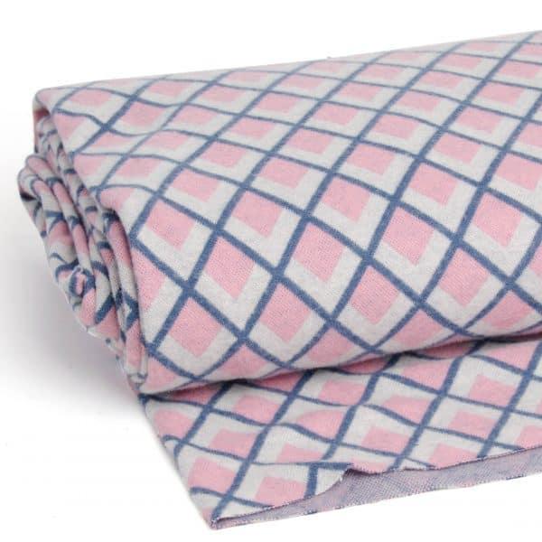 Albstoffe - Fatima Wooltouch - Rose albstoffe wooltouch roze