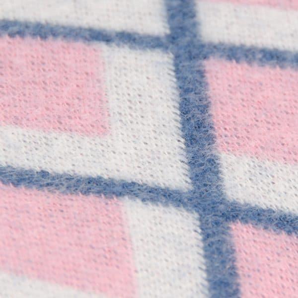 Albstoffe - Fatima Wooltouch - Rose albstoffe wooltouch roze detail