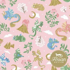 Overzicht duurzame stoffen Shop Baby Dragons Pink