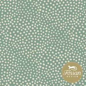 Overzicht duurzame stoffen Shop Stone Dots Dark Mint